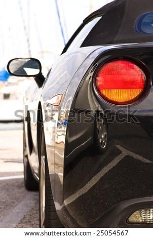 luxury car - stock photo