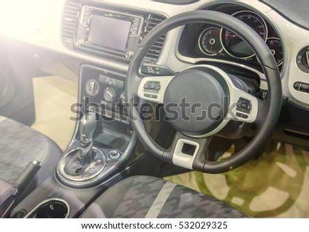 luxury car interior stock images royalty free images vectors shutterstock. Black Bedroom Furniture Sets. Home Design Ideas