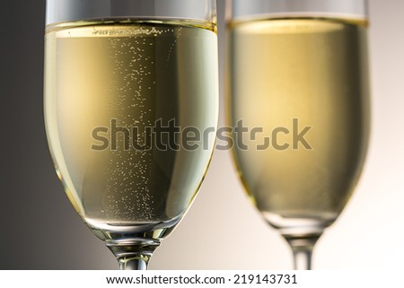 luxury champagne glasses