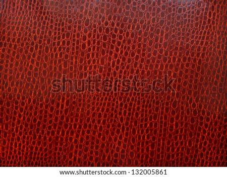 Luxury claret crocodile texture - stock photo