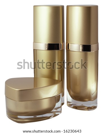 Luxury cosmetics series - stock photo