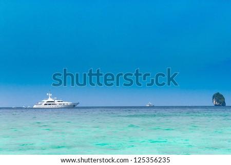 Luxury Cruise Expensive Freedom - stock photo