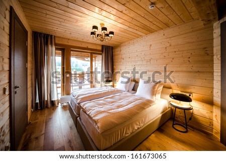 Luxury empty bedroom  - stock photo