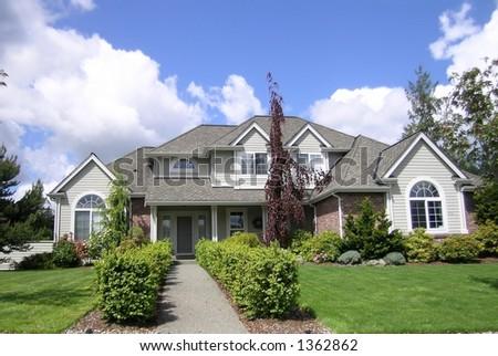Luxury Executive Home - stock photo