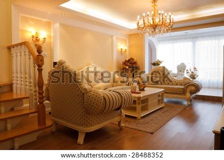 Luxury Expensive Living Room Interior