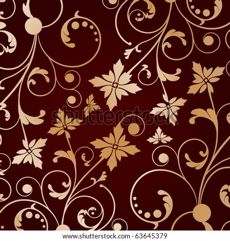 Luxury floral background. Jpeg version - stock photo