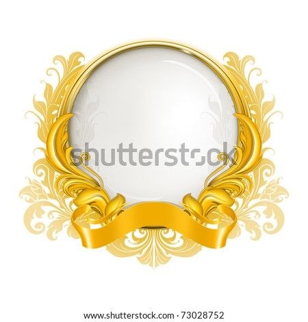 Luxury Frame, bitmap copy - stock photo