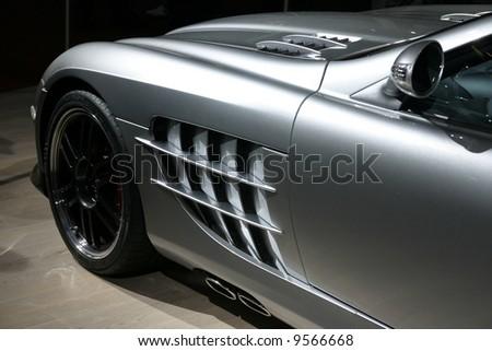 luxury german car - stock photo