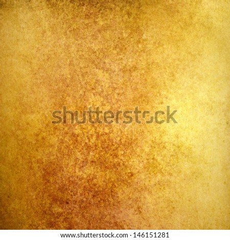 Luxury Gold Background Rustic Country Western Design Vintage Grunge Texture Distressed Old