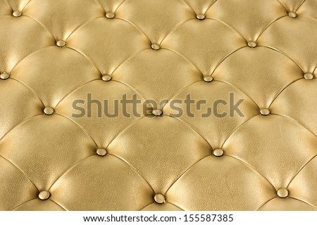 Luxury gold leather. - stock photo