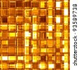 Luxury golden glass seamless mosaic - stock photo