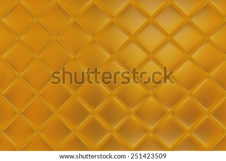 Luxury golden mosaic, gold abstract background - stock photo