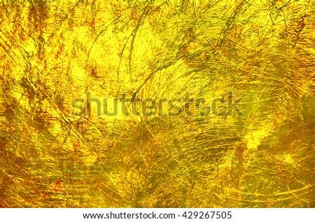 Luxury golden texture.Hi res background. - stock photo