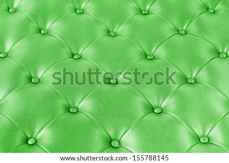 Luxury green leather. - stock photo