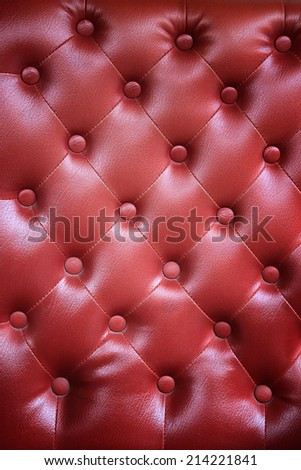 Luxury green leather  - stock photo