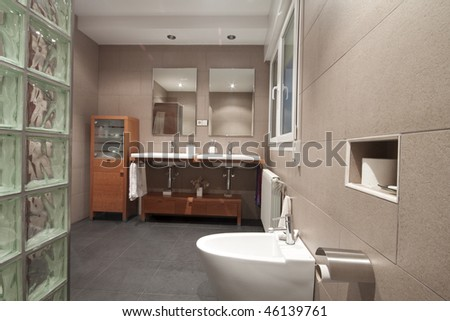 luxury home washroom