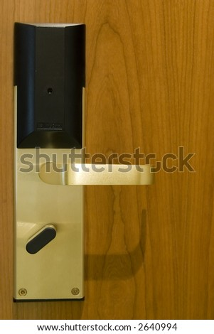 luxury hotel door