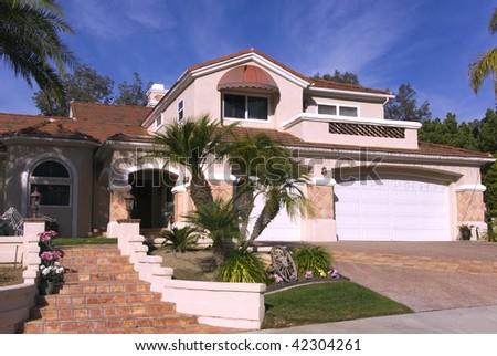 Luxury House - stock photo