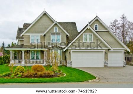 Luxury house. - stock photo