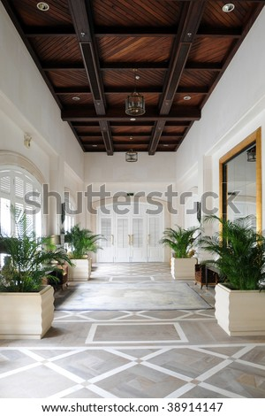 Luxury House Interior - stock photo