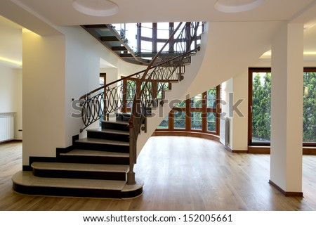 Luxury House Interior Stairs