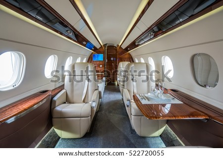 Jet stock images royalty free images vectors shutterstock luxury interior in bright colors in the private business jet malvernweather Choice Image