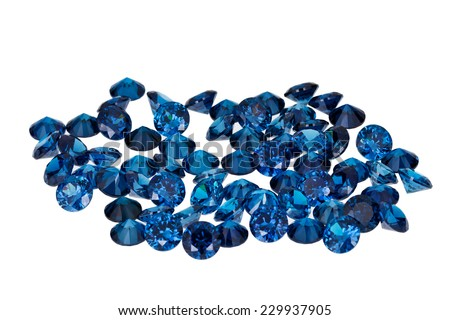 Luxury jewelry gems - stock photo
