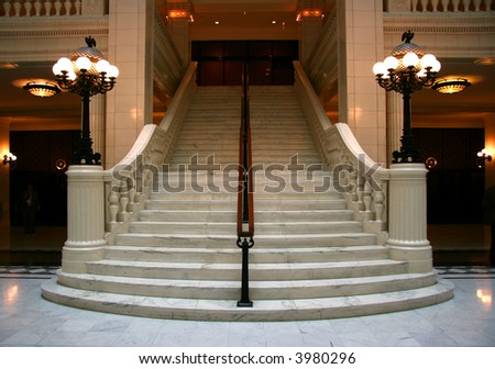 large white staircase chicago stairway stock images royalty free images vectors