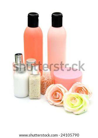 Luxury lotions - stock photo
