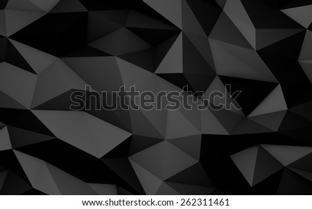 Luxury Low Poly Abstract Background - stock photo
