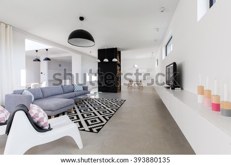 Big House Inside Living Room house hall stock images, royalty-free images & vectors | shutterstock