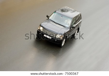 "luxury off-road vehicle of my ""luxury cars"" series - stock photo"