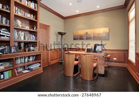Luxury office - stock photo