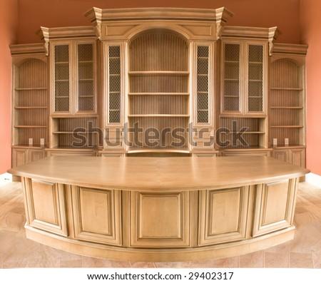 Luxury office entertainments center - stock photo