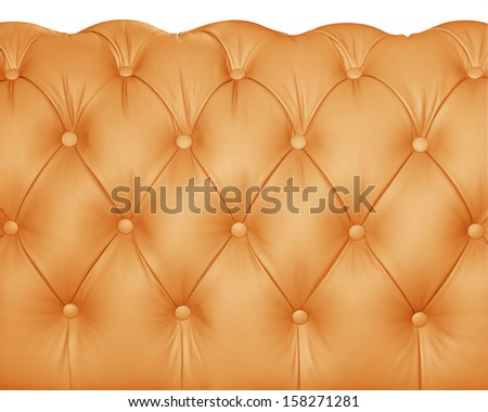 Luxury orange leather. - stock photo
