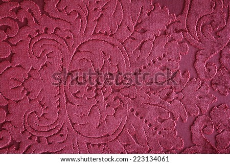 Luxury Pink Velvet Texture Background - stock photo