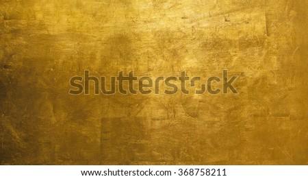 luxury shiny gold background texture - stock photo