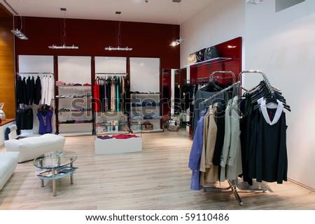 Luxury shop - stock photo