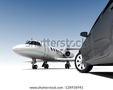 Luxury Transportation - stock photo