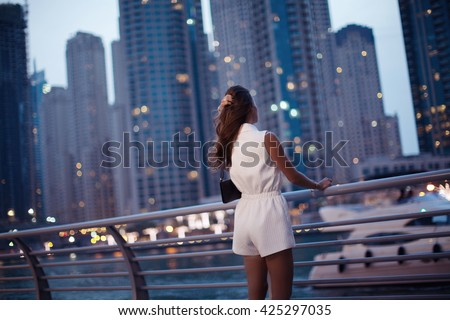 Dubai city life stock images royalty free images for Luxury travel in dubai