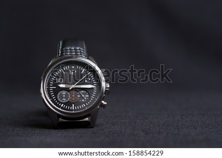 Luxury Watch on the Table - stock photo