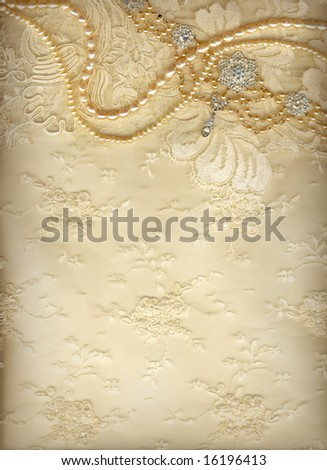 Luxury wedding background with plenty of copy space - stock photo