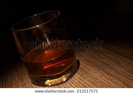 Luxury whiskey glass