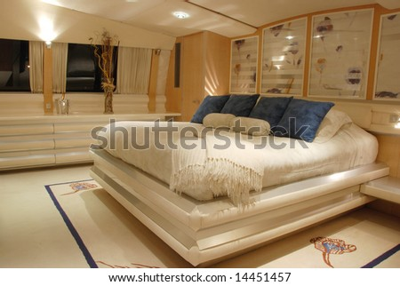 Luxury Yacht Stateroom