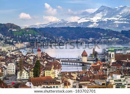 Luzern, Switzerland - stock photo
