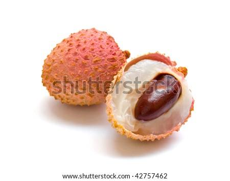 lychee - stock photo