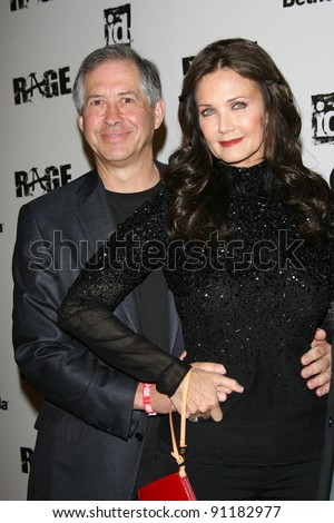 "Lynda Carter and husband Robert A. Altman at the ""Rage"" Official Launch Party, The Rage, Los Angeles, CA 09-30-11"