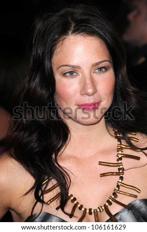 Lynn Collins   at Los Angeles Premiere of 'Marley and Me'. Mann Village Theater, Los Angeles, CA. 12-11-08