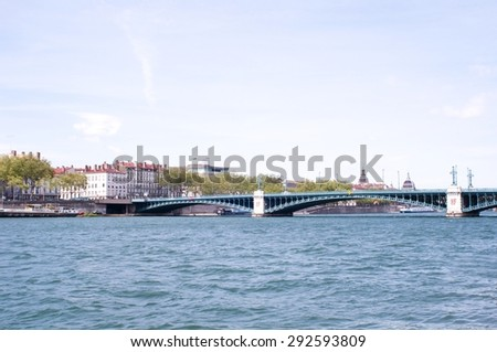 Lyon, France - stock photo