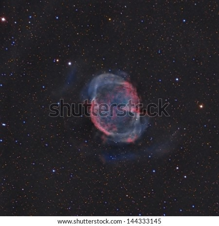 M 27 A Planetary Nebula Also Known as the Dumbbell